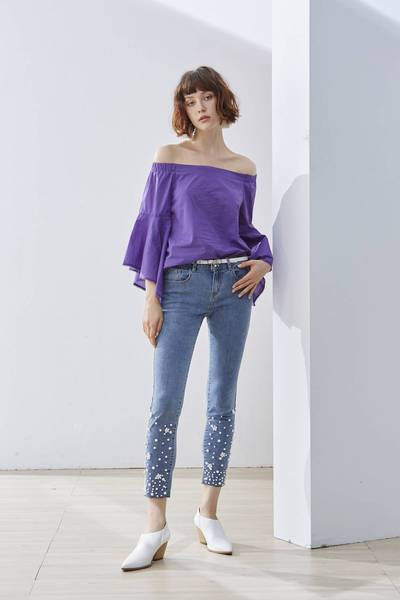 Elegant woman fashion top
