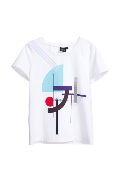 Irregular design T-shirt