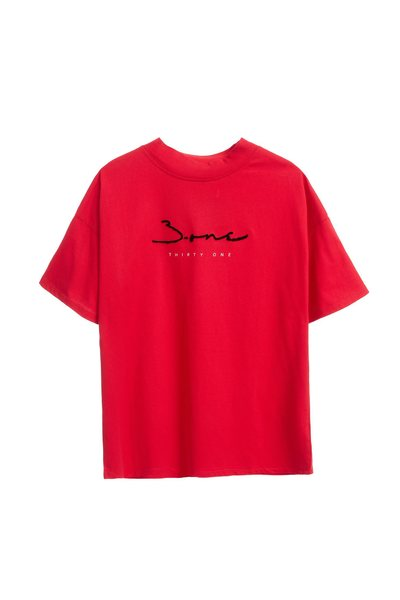 iRoo x 3.one Logo T-shirt(black)