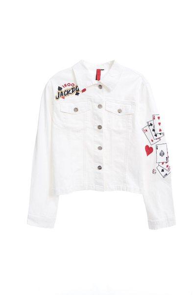 Poker pop denim jacket