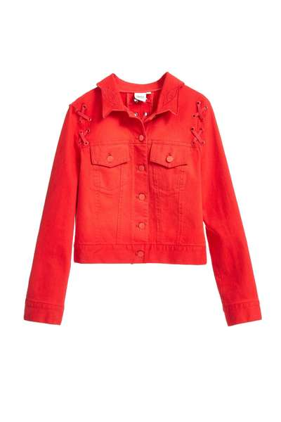Fashion pretty red jacket