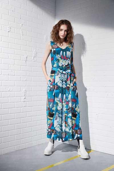 Fashion geometric dress