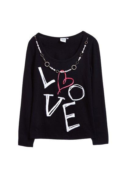 Fashion alphabet  sleeve top