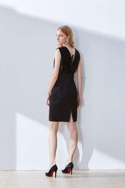 Elegant and slim fashion dress