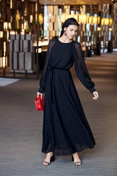 Luxury see-through  lac dress