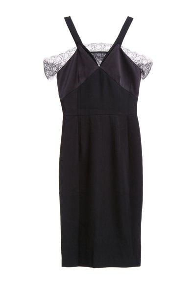 Elegant slim back dress
