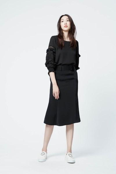 Soft cotton belt skirt