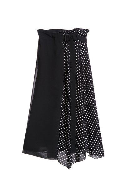 Polka dots classic design skirt