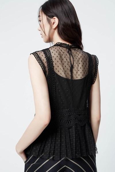 Palace royal style lace top