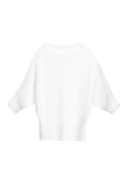 Minimalist knit top