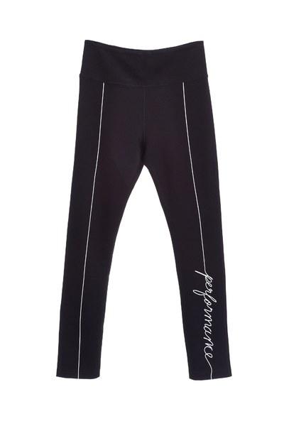 slim line letter pattern leisure stylecomfy legging