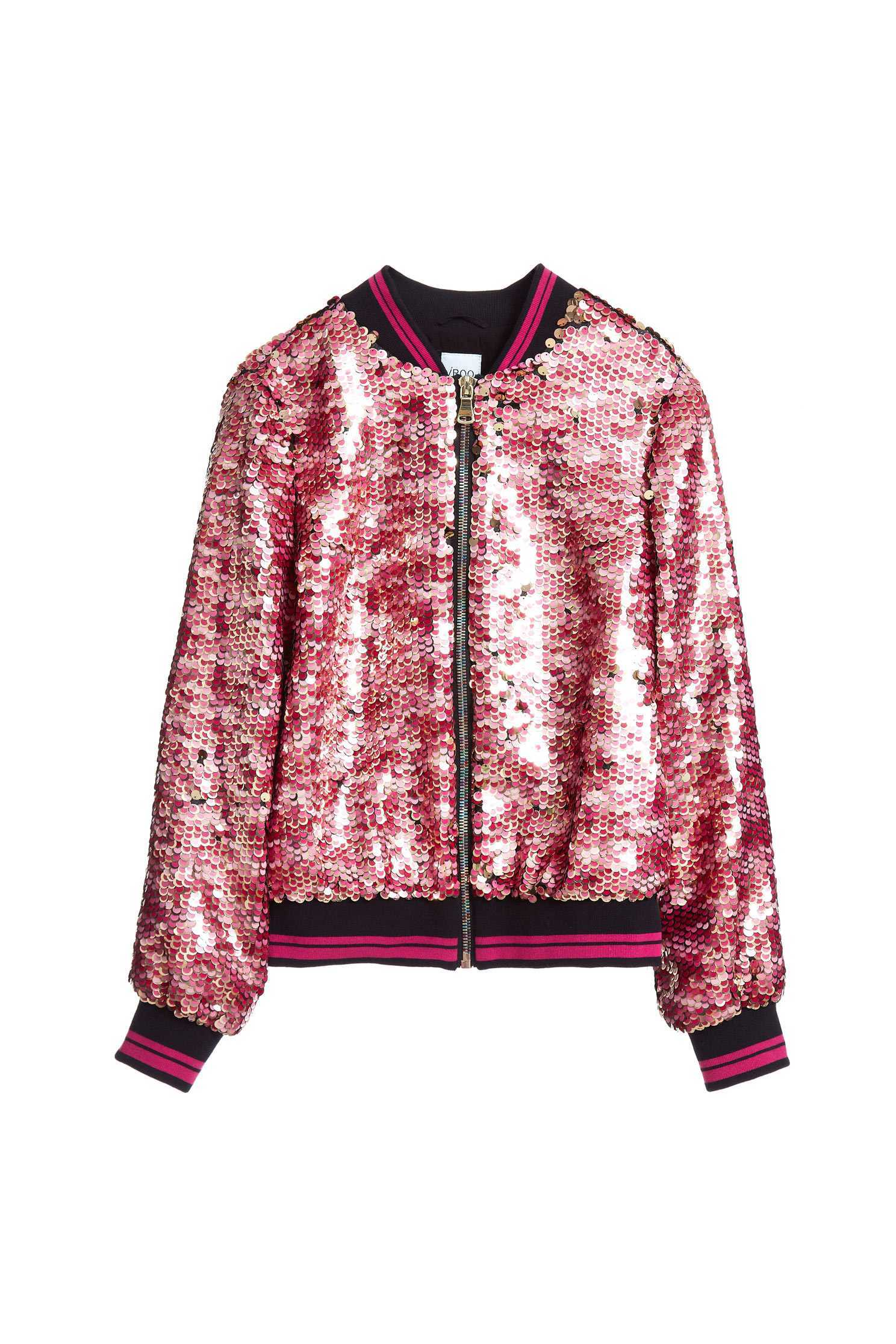 Full sequins coat