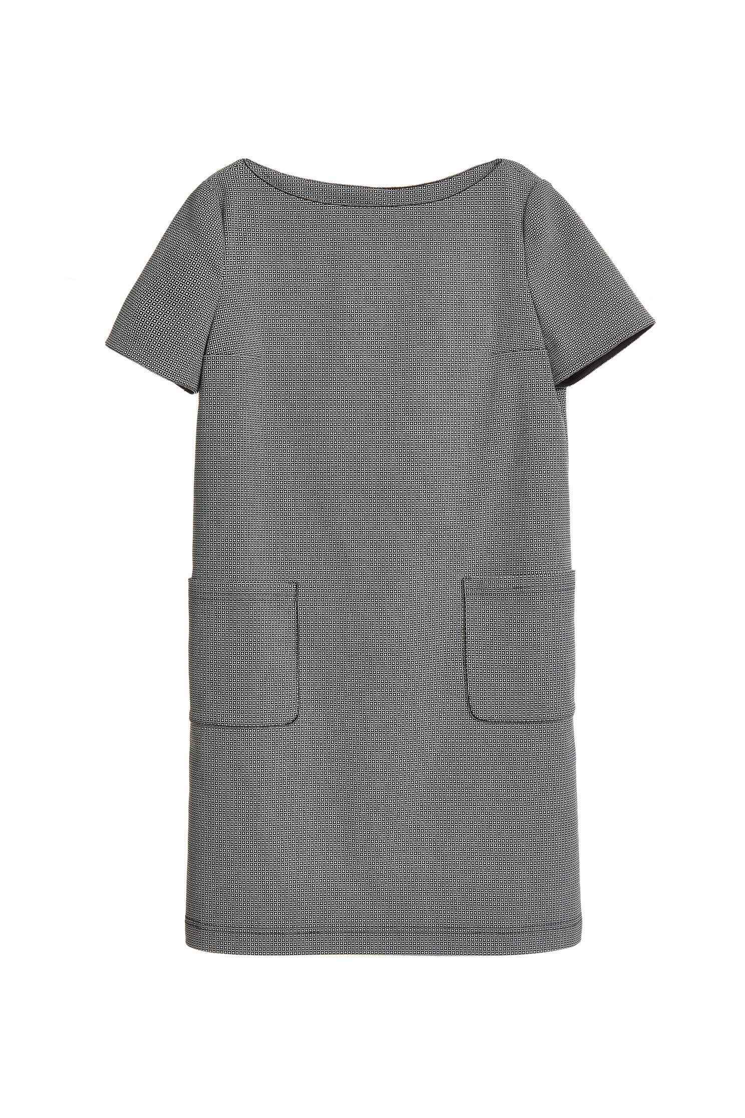 Double pocket classic dress