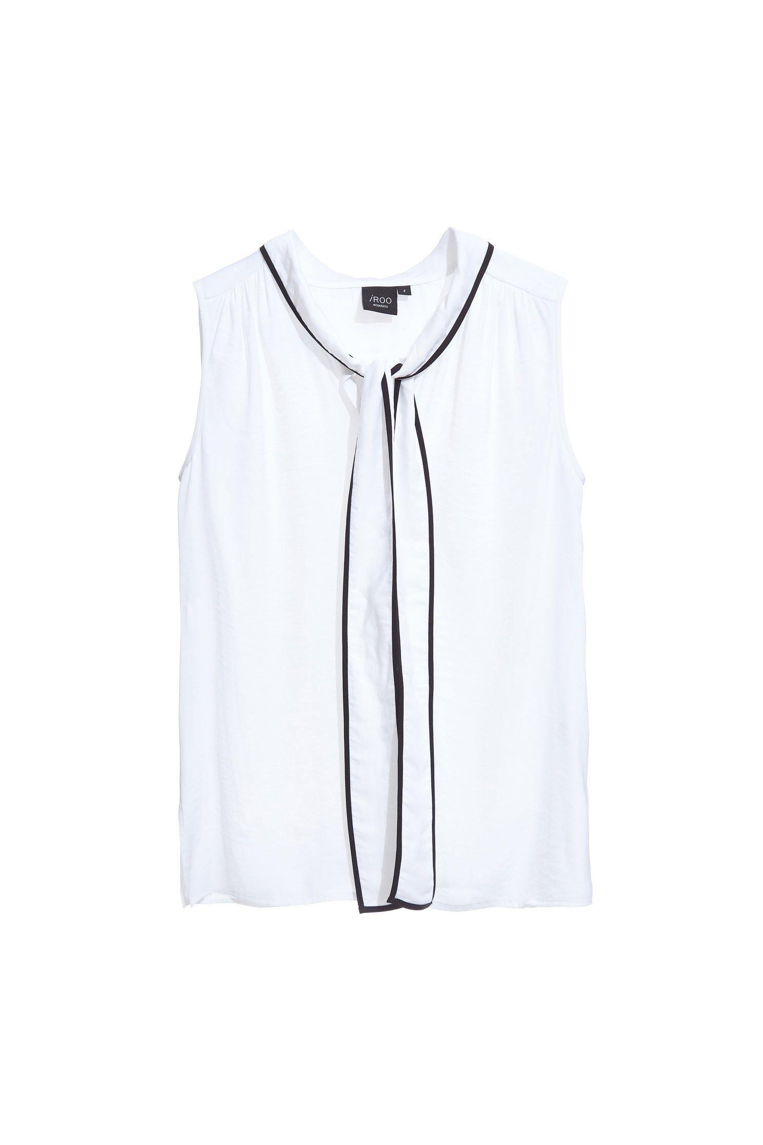 Cozy soft white vest