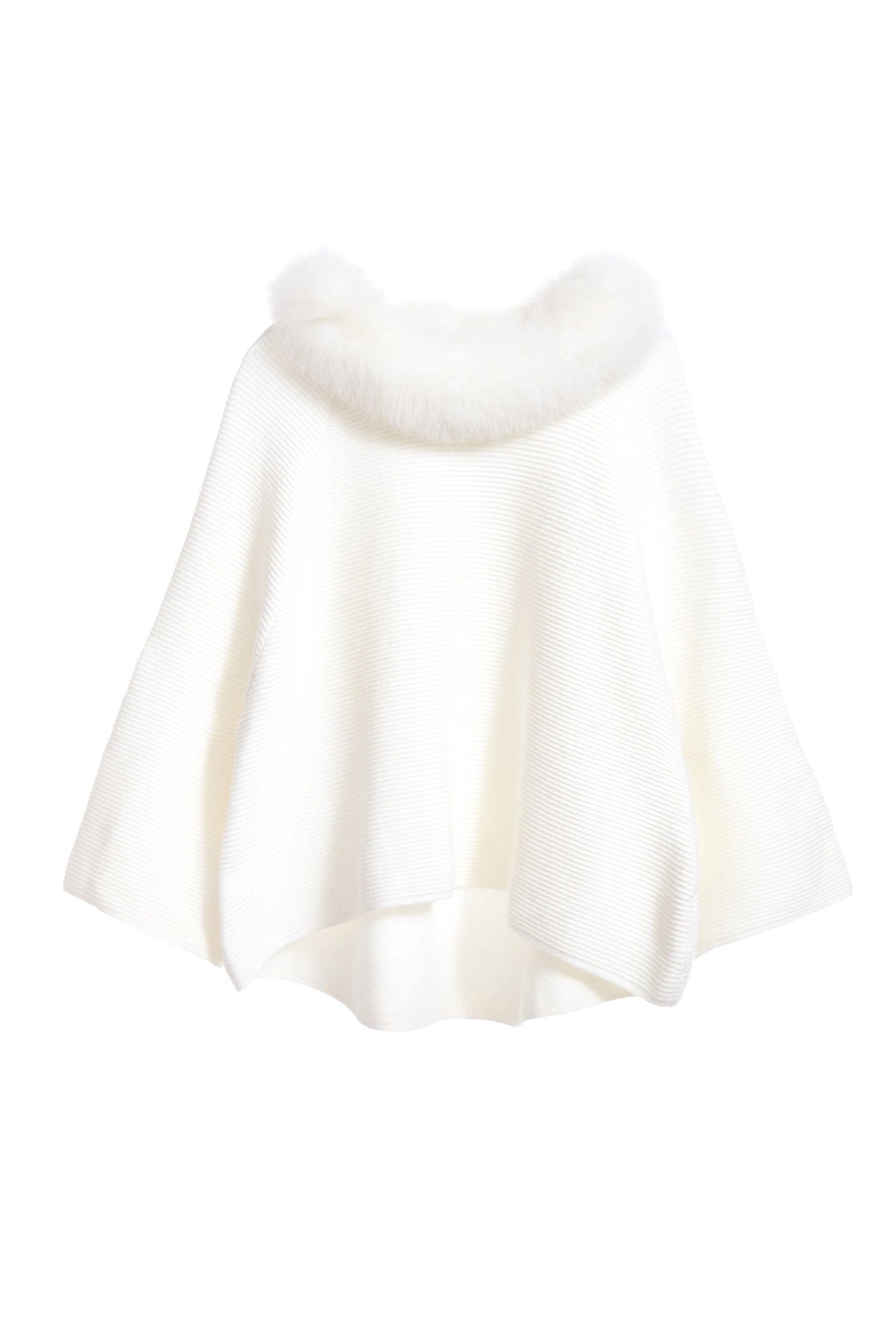 The top with fluff on collar