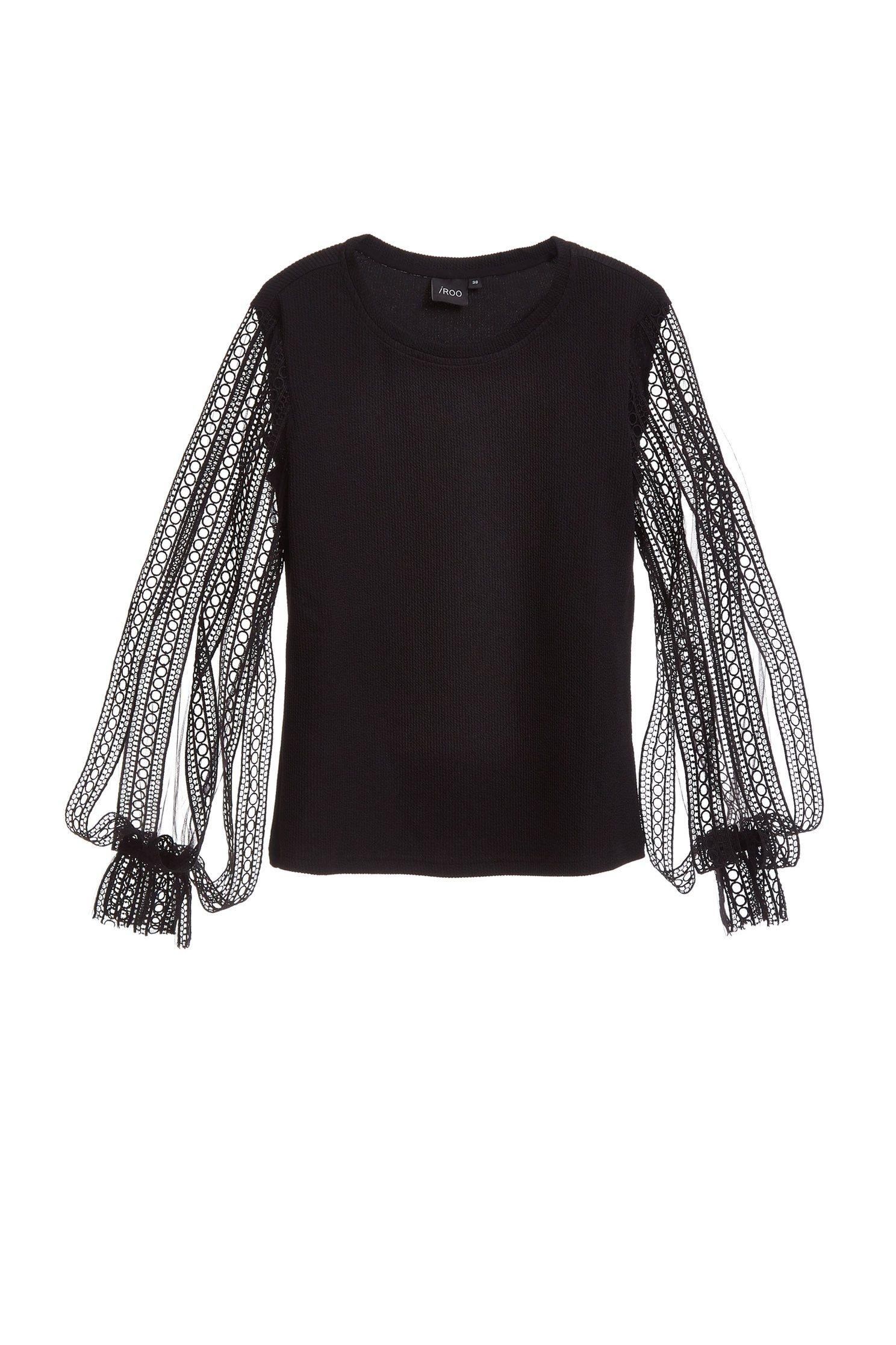 Elegant stitching classic top