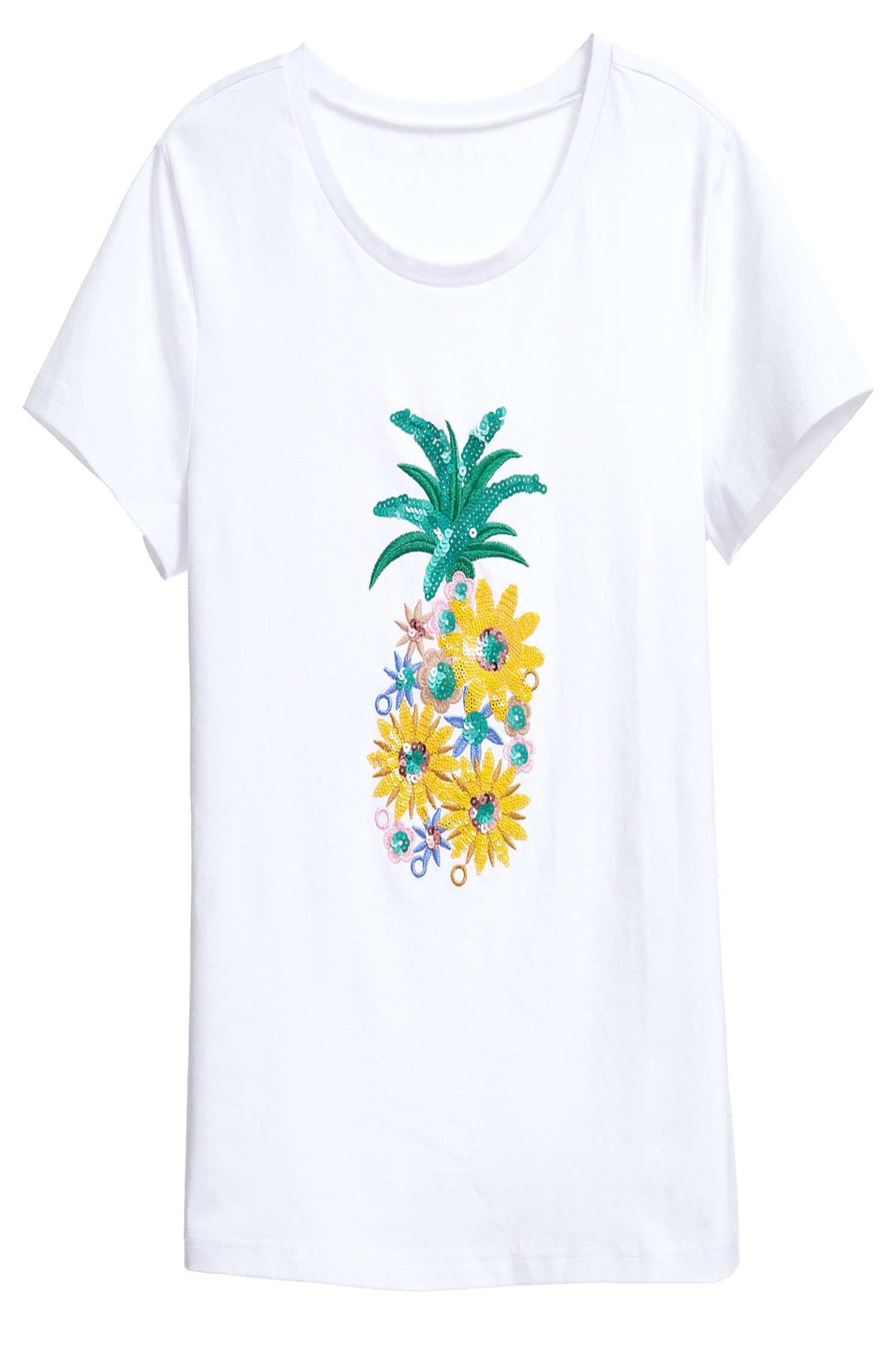 Small flower pineapple top