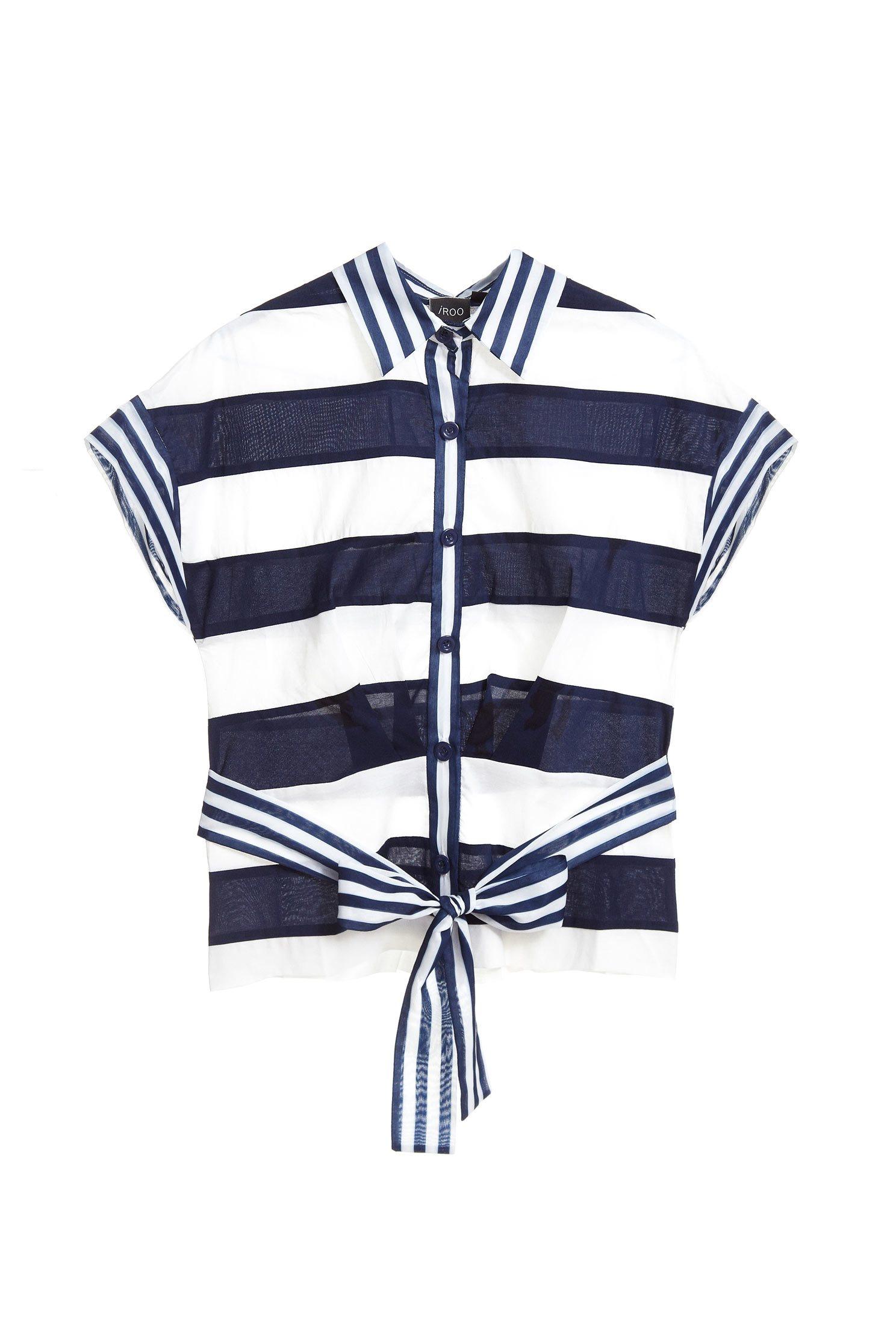 Striped design top