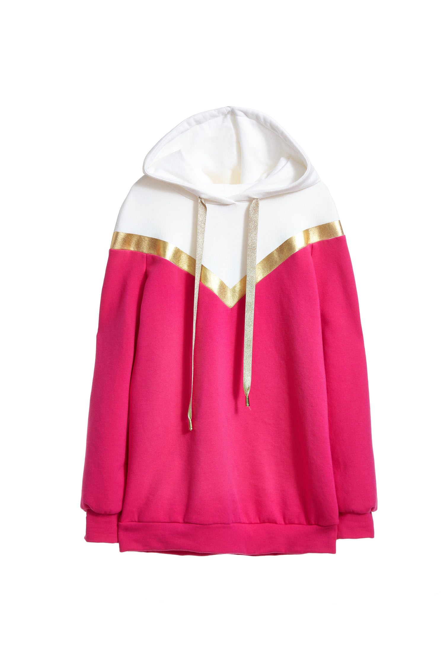 Hoodie with a colour combination