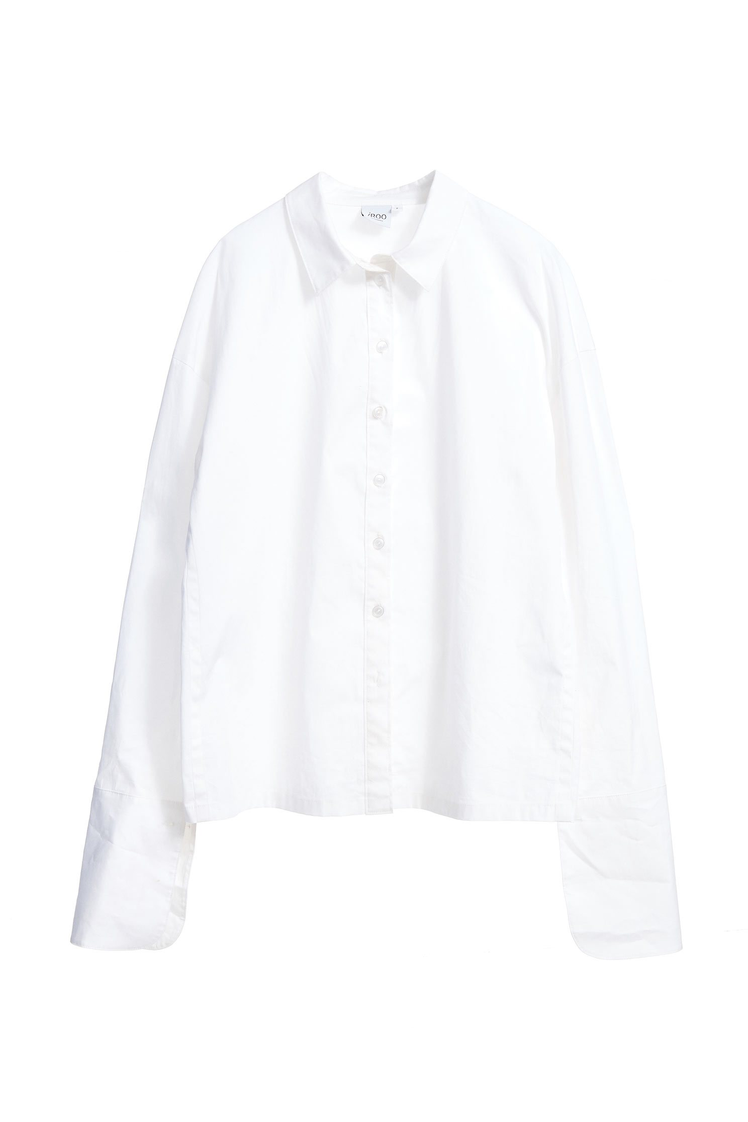 Long-sleeved Blouse with Buttons