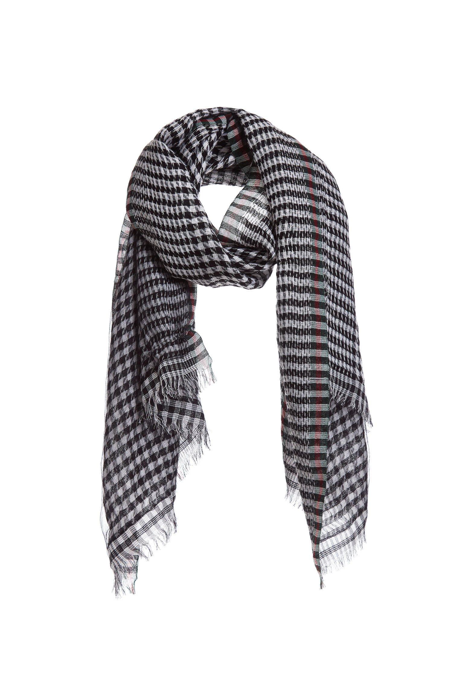 Vintage-check scarf