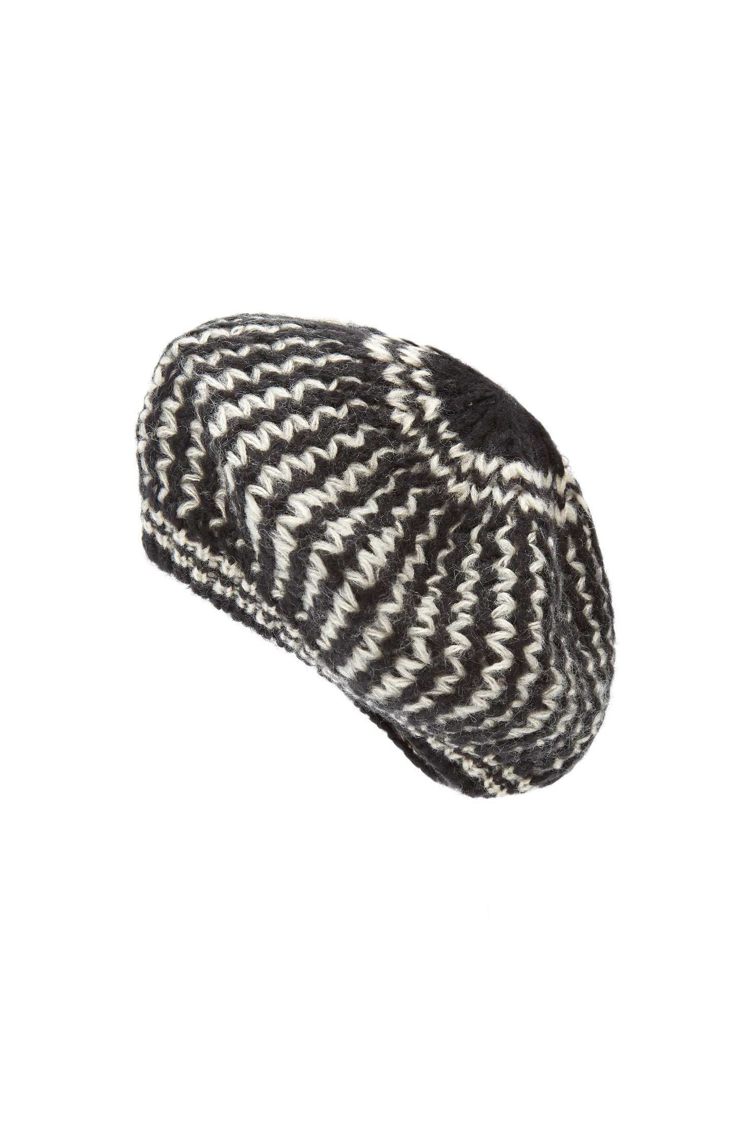 Knitted fashion beret