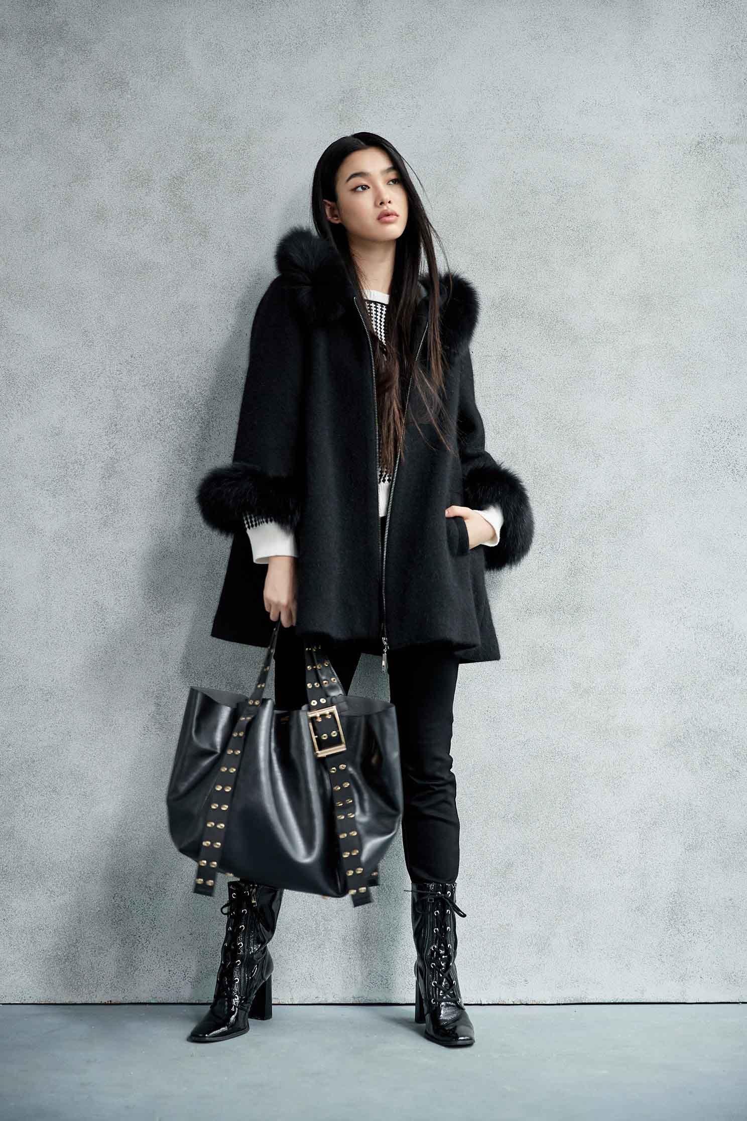 ladies popular pairy coat