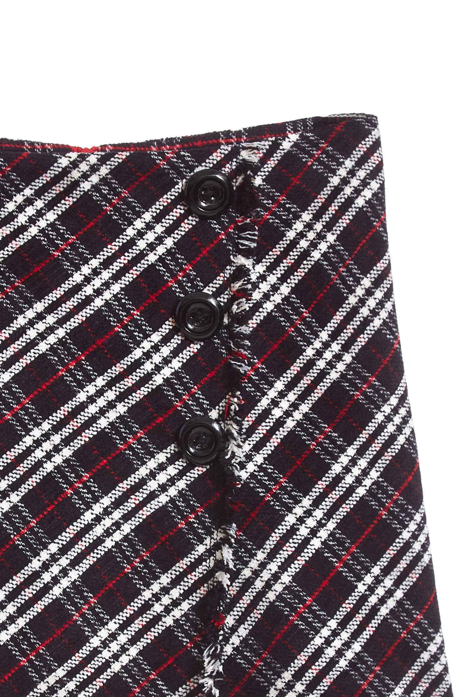 Vintage plaid classic design shorts