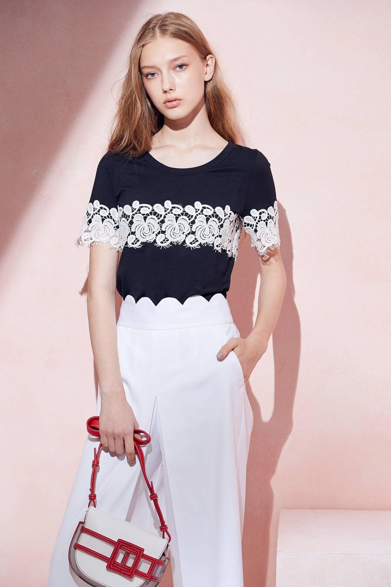 Romantic lace top