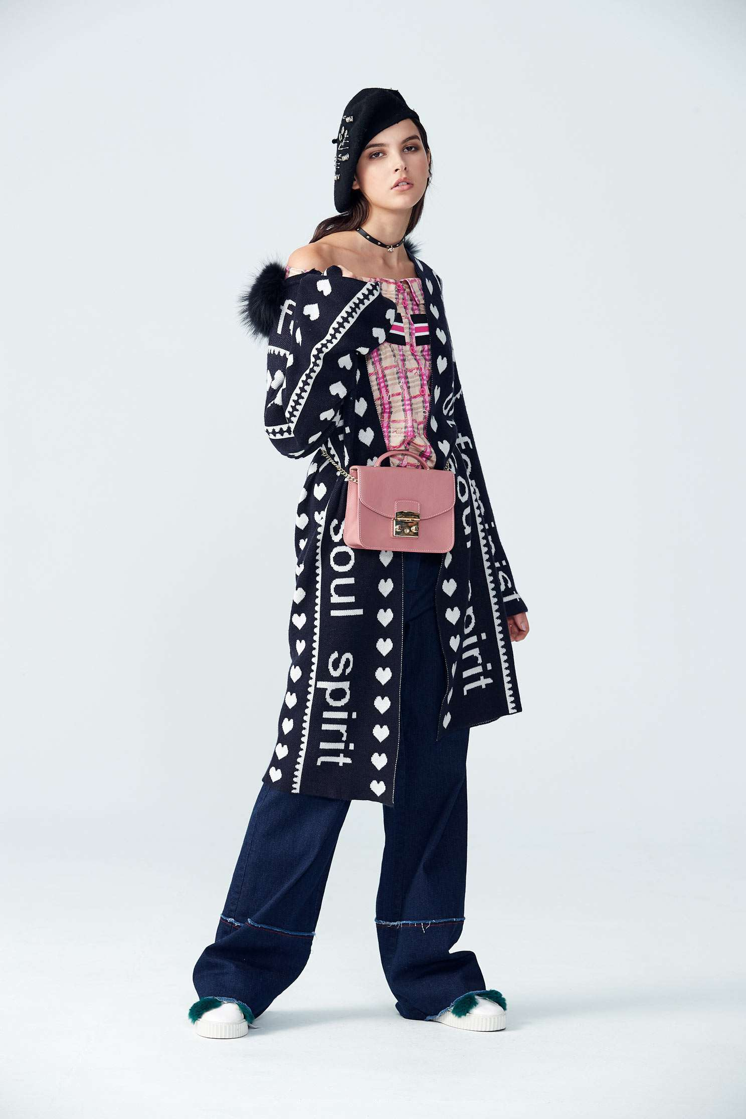 Alphabet coat