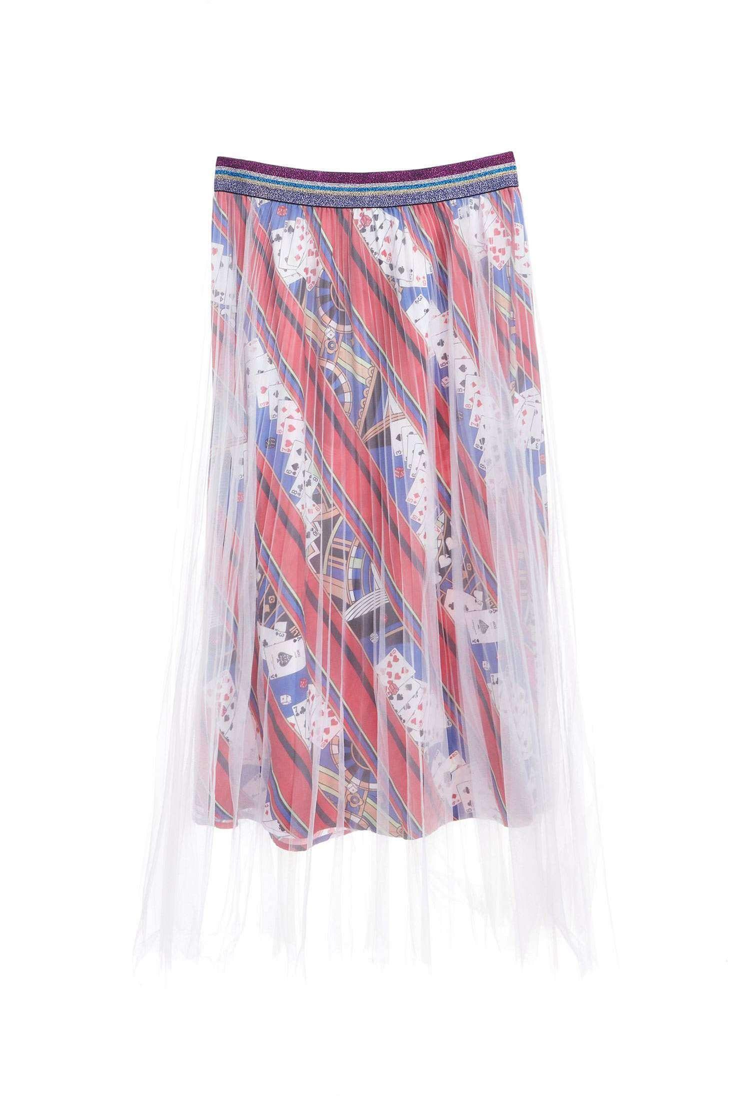 Popular fashion long skirt