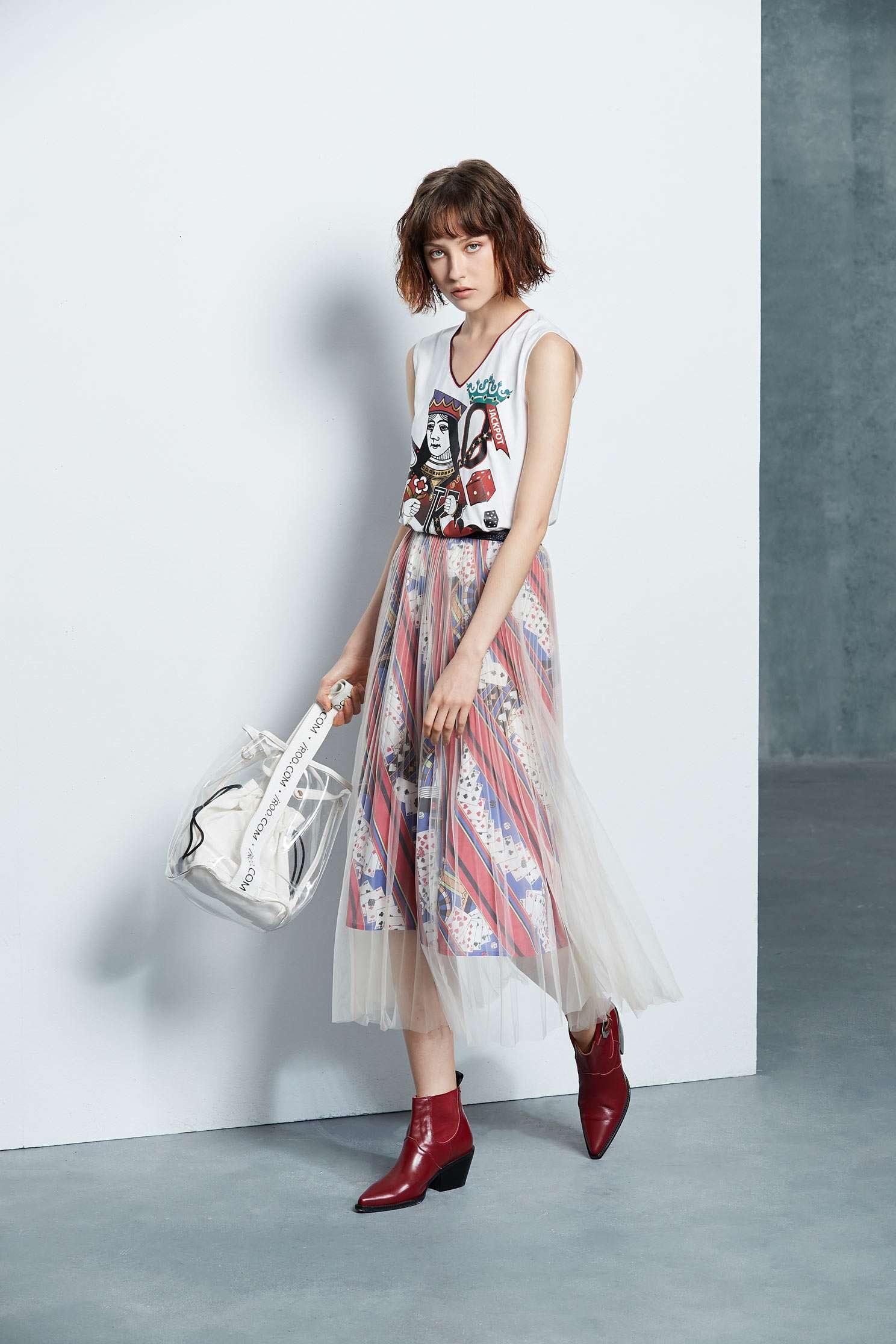 Poker Queen Fashion Vest