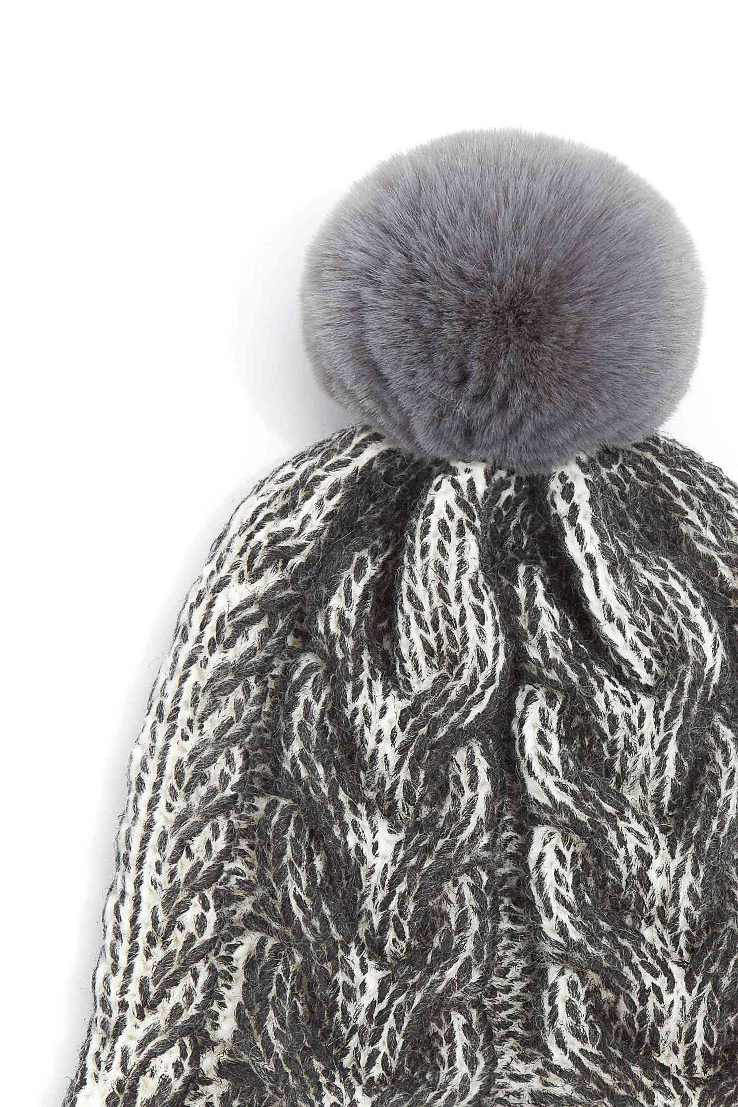 Styling bobble hat