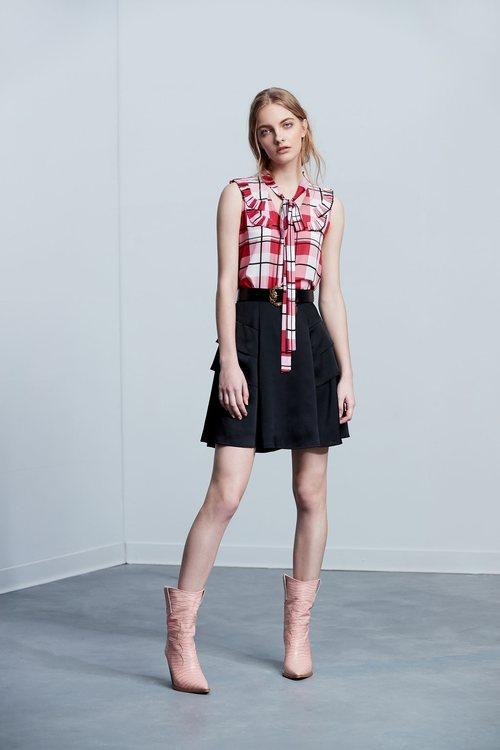 Plain face umbrella classic fashion skirt