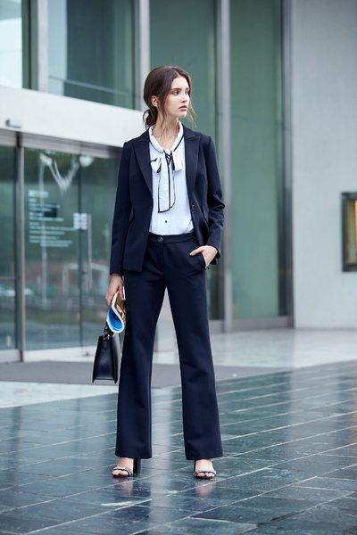Minimalist designer blazer