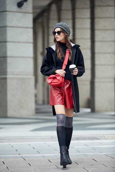 Elegant classic fashion coat