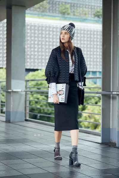 Elegant temperament outwear coat