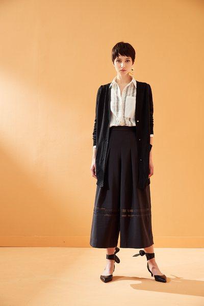 classic knit coat