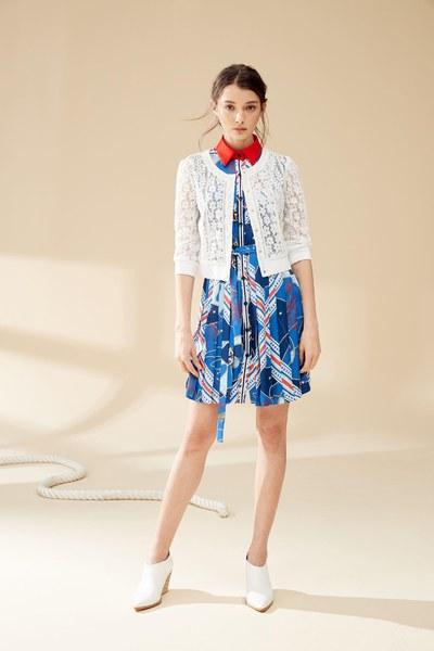 Elegant full lace classic jacket