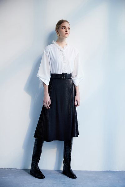 Stitching classic design dress