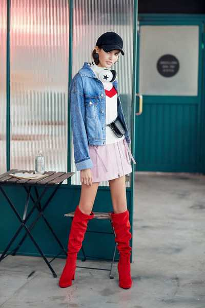 Pretty pocket design skirt