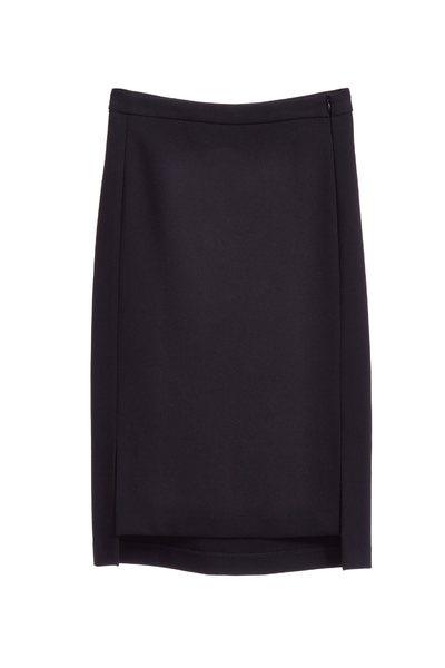 Plain and elegant long skirt