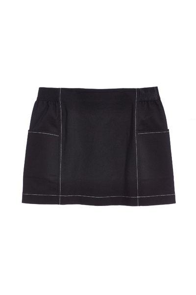 Slim short skirt