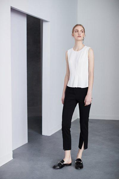 Basic slim classic trousers