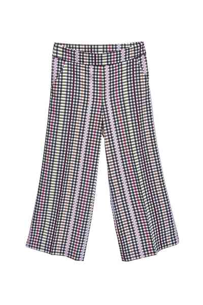 Color totem classic design long pants