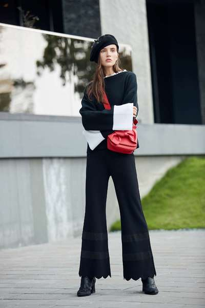 elegant urban flare pants