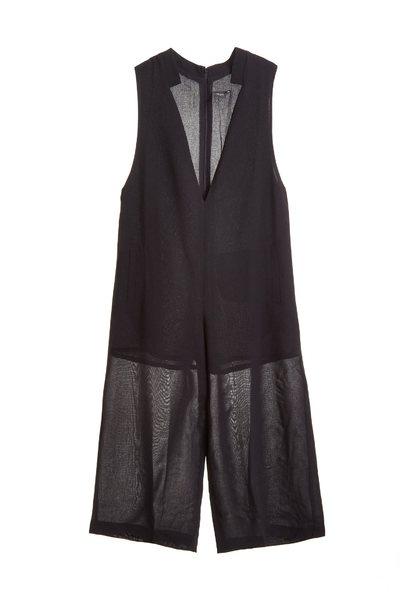 Plain and elegant jumpsuit