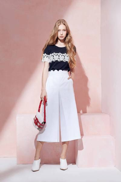Temperament design fashion culottes