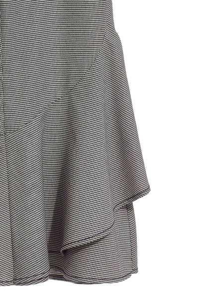 Classic wavy popular checkered pants