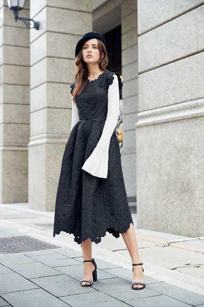 Elegant classic design dress